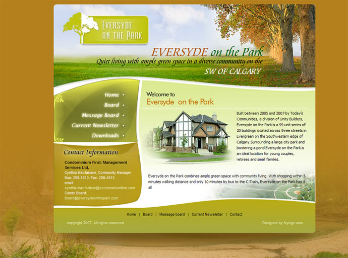 website banner design ideas we designed the site for a