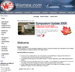 New site after facelift